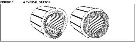 روتور در موتور AC درب اتوماتیک