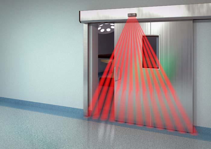 سنسور مادون قرمز در درب اتوماتیک