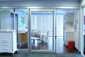 درب کشویی لولایی ICU