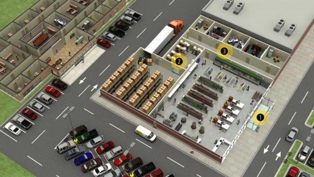 درب اتوماتیک برای مکان های تجاری