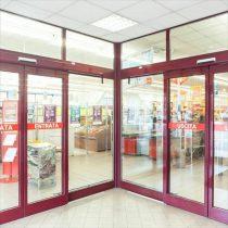 درب اتوماتیک برای فروشگاه جهت ورود و خروج